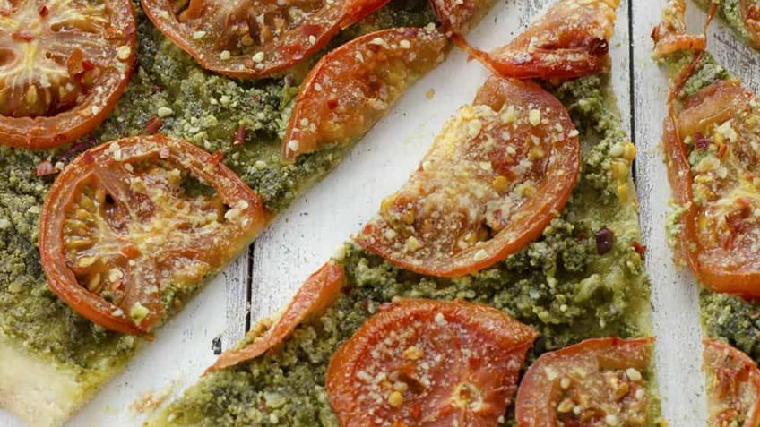 vegan pizza pesto recipe