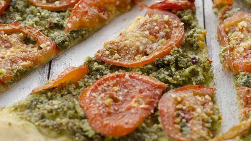 vegan recipe for vegan pizza pesto