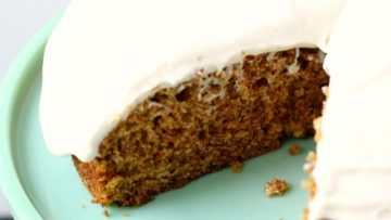 VEGAN RECIPE easy-gluten-free-vegan-carrot-cake