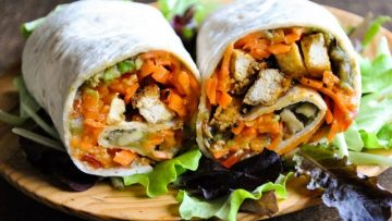 Vegan recipes with carrot