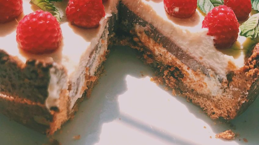 Recipe Raspberries Cheesecake Vegan