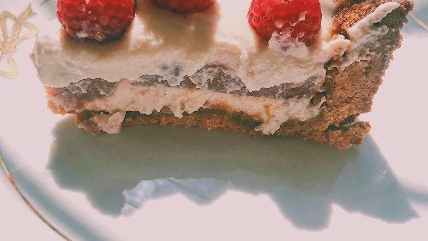 Vegan Raspberries Cheesecake Recipe