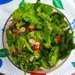 salad with spinach