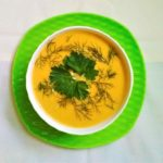 vegan recipe lentil cream soup